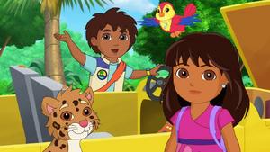 Dora & Friends For the Birds Diego & Jaguar.png
