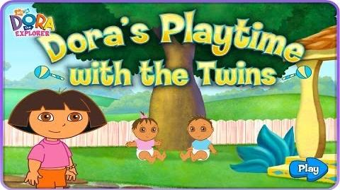 Dora The Explorer Dora's Playtime with the Twins Full HD