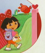 Dora-Big-Red-Chicken-Isa-valentine