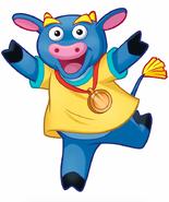 Dora the Explorer Benny the Bull Nickelodeon Nick Jr. Noggin Character Image 3