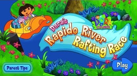 Dora The Explorer Dora's Rapido River Rafting Race Full HD