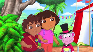 Dora & Diego's Amazing Animal Circus Adventure
