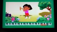 Dora Playing Trumpet