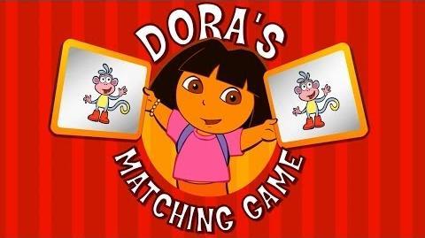 Dora The Explorer Matching Game Full HD
