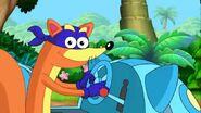 Swiper in a cat car by fucciflakes-d5i1mkr