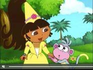 Dora The Explorer Princess Dora and Boots 324423