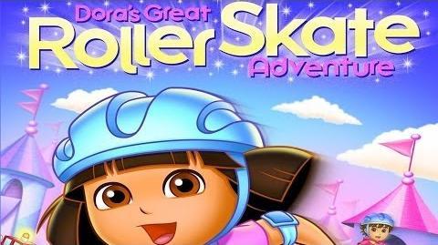 Dora The Explorer Dora's Great Roller Skating Adventure Full HD