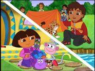 Dora talking Diego