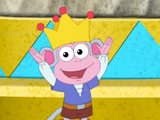 Dora's Royal Rescue