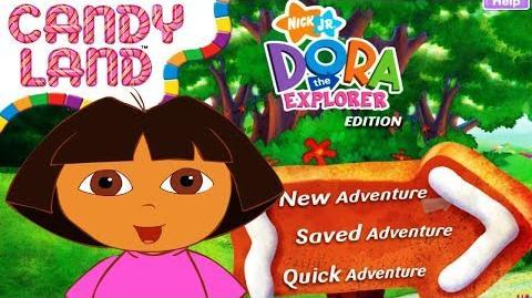 Dora The Explorer Candy Land Full HD
