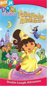 Dora's Fairytale Adventure (VHS)