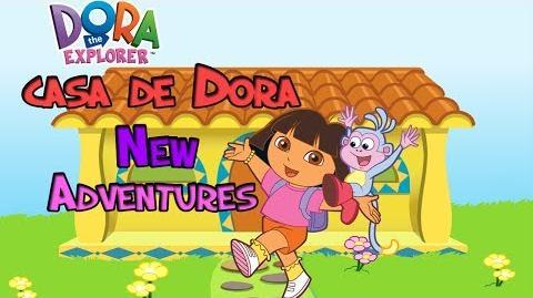 Dora The Explorer Casa de Dora New Adventures Full HD