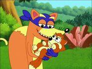 Swiper and the baby fox
