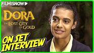"DORA AND THE LOST CITY OF GOLD Madeleine Madden ""Sammy"" On-set Interview"