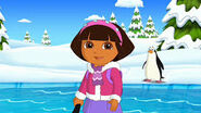 Dora and penguin