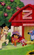 Dora-Benny-barn-hoedown