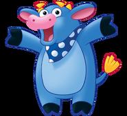 Dora the Explorer Benny the Bull Nickelodeon Nick Jr. Noggin Character Image 2