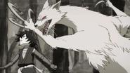 Kamaitachi attacking Hyakkimaru