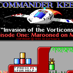 """Commander Keen in """"Invasion of the Vorticons"""""""