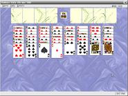 FreDOS-bolitaire-game