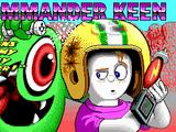 """Commander Keen in """"Aliens Ate My Babysitter!"""""""