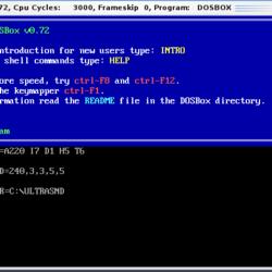 DOS emulation software