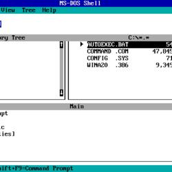 MS-DOS Version History