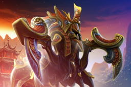 Cosmetic icon Sovereign of the Hive Loading Screen.png