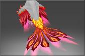赤色紅爐長羽