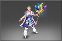 Cosmetic icon Regalia of the Crystalline Queen Set.png