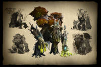 Envisioning Treant Protector Loading Screen
