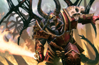 Loading Screen of the Daemon Prince