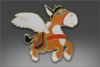 Classic Pin: Courier Donkey
