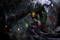 Cosmetic icon Roshan's Greed Loading Screen.png