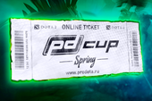 Prodota Spring Cup Ticket