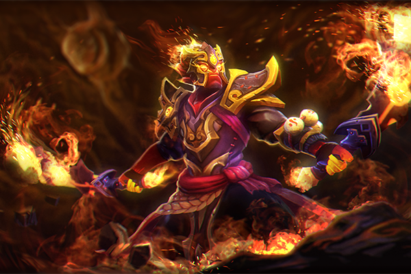 Invoker Set With Face Paint