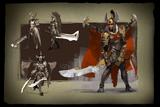 Envisioning Legion Commander Loading Screen