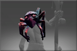 Cosmetic icon Spider Shoulders of Purple Nightmare.png