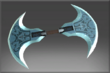Exquisite Doubled Axe of the Veil
