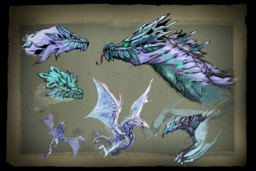Cosmetic icon Envisioning Winter Wyvern Loading Screen.png