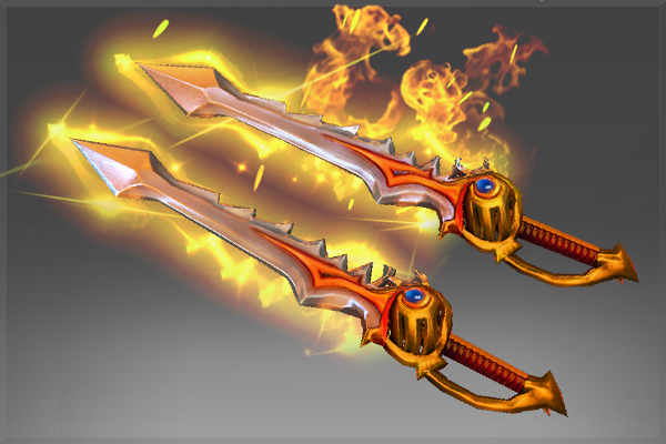 Dota 2 Immortal Items And Player Cards Released: Rapiers Of The Burning God