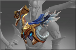 Cosmetic icon Pauldrons of Cerulean Light.png
