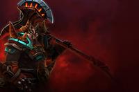 Tela de Carregamento: Guerreiro do Inferno