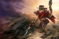 Загрузочный экран: Hunter with No Name