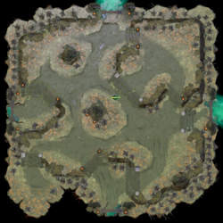 Minimap Aghanim's Labyrinth The Beastly Babies.png