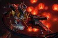 Regalia of the Parasol's Sting Loading Screen