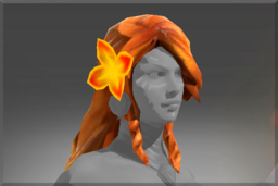 Cosmetic icon Braid of Fiery Curls.png