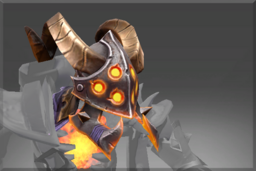 Cosmetic icon Scorched Fletcher Helm.png