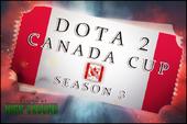 Dota 2 Canada Cup Season 3 Ticket