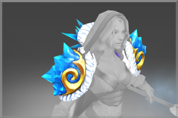 Cosmetic icon Mantle of the Blueheart Sovereign.png